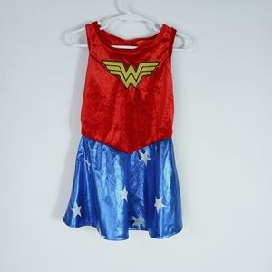 Wonder woman toddler costume with leg warmers